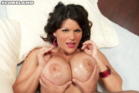 Angelina Casrto Huge Tits String Bikini
